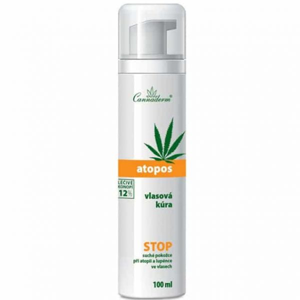 Cannaderm Atopos 12% kuracja dla włosów 100 ml