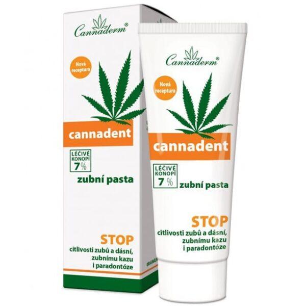 Cannaderm Cannadent 7% pasta do zębów 75 g