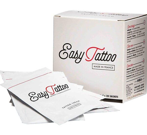 Krem do tatuażu EasyTattoo w saszetkach 20 x 4 ml