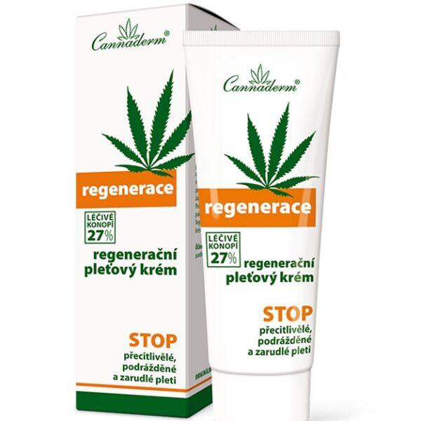 Krem regenerujący Regenerace Cannaderm 75 ml