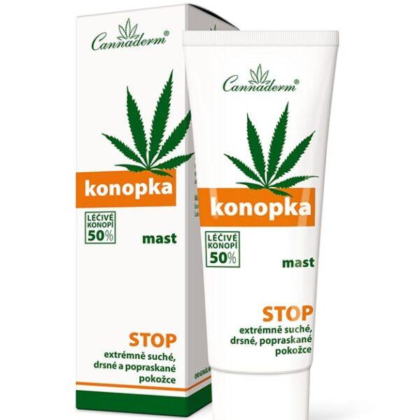 Maść Konopka Cannaderm 75ml, 50% oleju