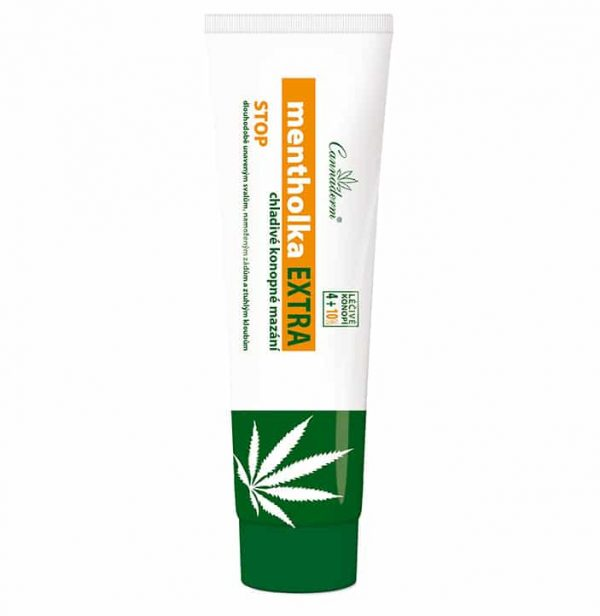 Maść przeciwbólowa chłodząca Cannaderm Mentholka Extra 14%