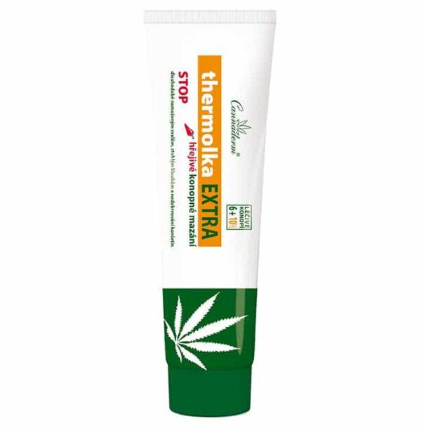 Maść konopna Cannaderm Thermolka Extra 16% 150 ml