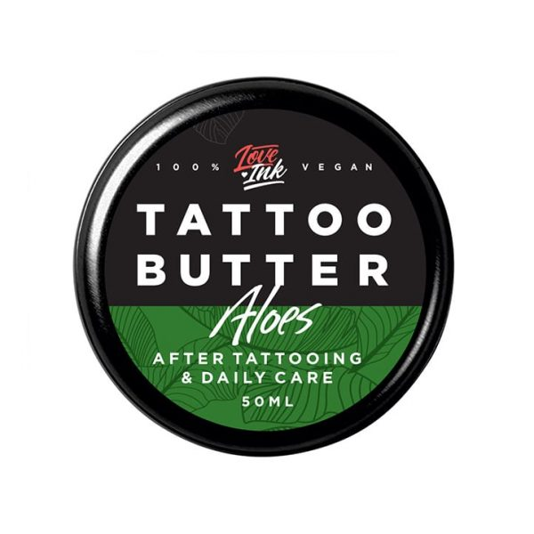 Masło do tatuażu Loveink Tattoo Butter Orange 50 ml