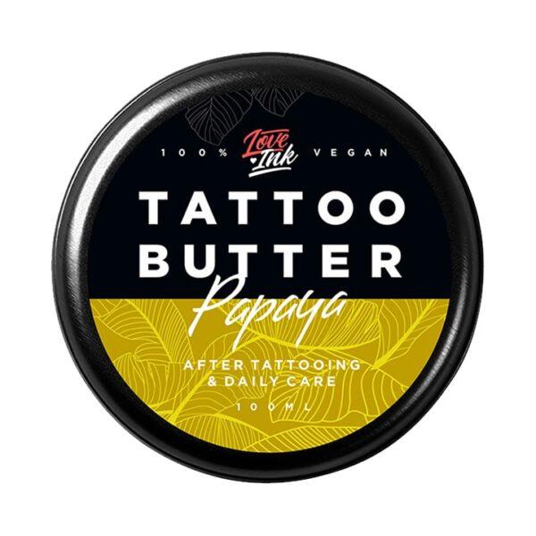 Masło do tatuażu Loveink Tattoo Butter Papaya 100 ml