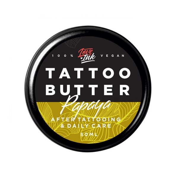 Masło do tatuażu Loveink Tattoo Butter Papaya 50 ml