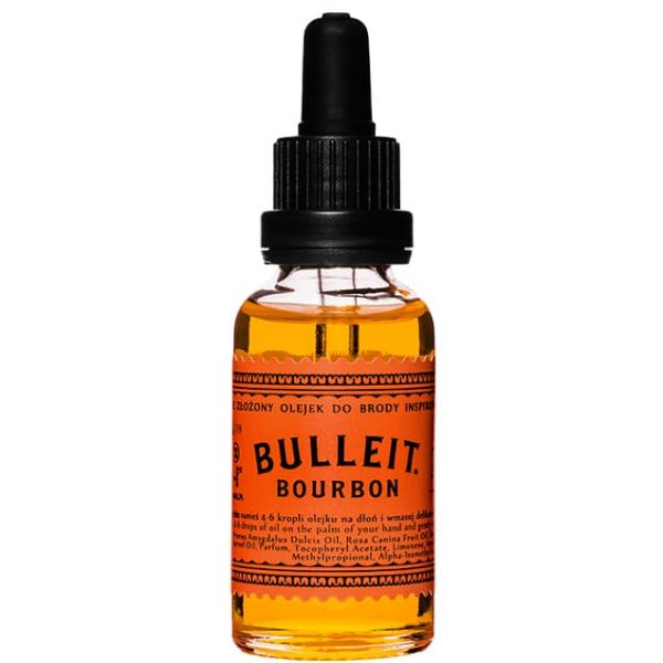 Olejek do brody Pan Drwal X Bulleit Bourbon 30 ml