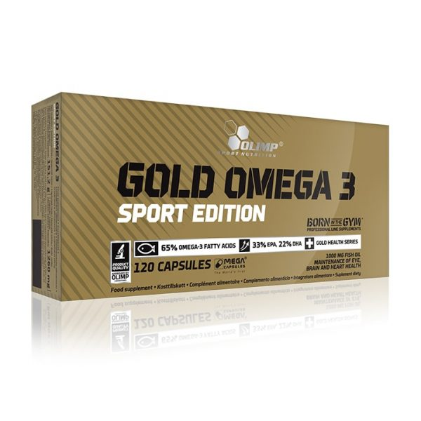 OLIMP GOLD OMEGA 3 SPORT EDITION 120 kap.