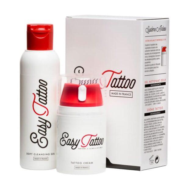 Zestaw do tatuażu EasyTattoo krem (50 ml) + żel (125 ml)