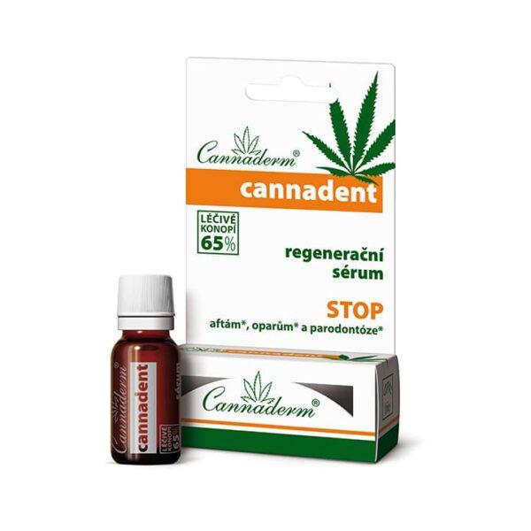 Cannaderm Cannadent serum na pleśniawki i opryszczkę 5 ml